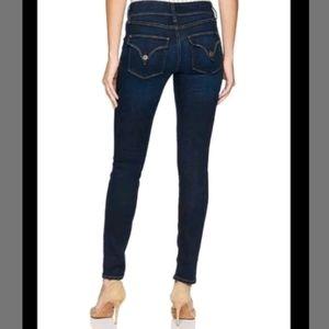 Hudson Jeans 29 Collin Flap Skinny Ankle Dark Wash
